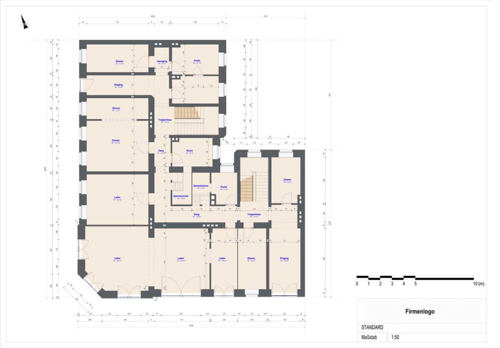 digital floor plan standard