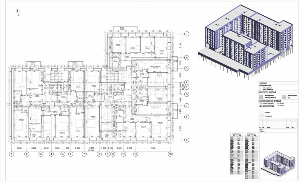 digital floor plan example 1